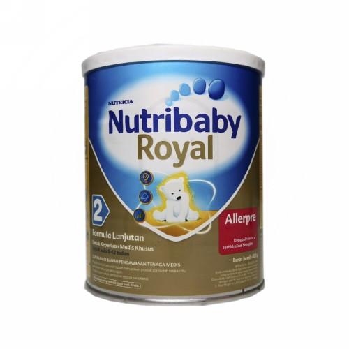 NUTRIBABY ROYAL ALLERPRE 2 SUSU 400 GRAM
