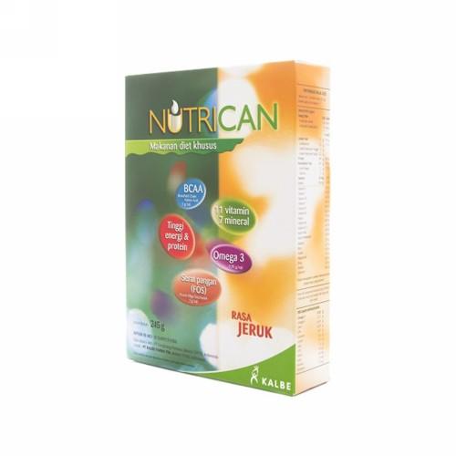 NUTRICAN RASA JERUK POWDER 245 GRAM BOX