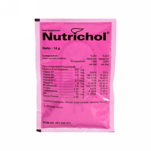 NUTRICHOL SACHET 14 GRAM