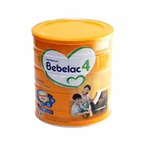 NUTRICIA BEBELAC 4 USIA 3-6 TAHUN RASA MADU 800 GRAM KALENG