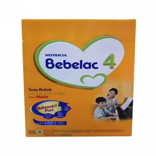 NUTRICIA BEBELAC 4 USIA 3-6 TAHUN RASA VANILA 1800 GRAM BOX