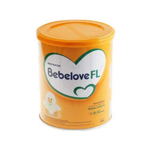 NUTRICIA BEBELOVE FL BEBAS LAKTOSA USIA 0-12 BULAN 400 GRAM BOX