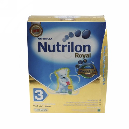 NUTRILON 3 SUSU PERTUMBUHAN ANAK USIA 1-3 TAHUN RASA VANILLA 400 GRAM BOX