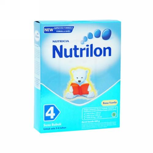 NUTRILON 4 SUSU BUBUK ANAK USIA 3-6 TAHUN RASA VANILLA 400 GRAM BOX
