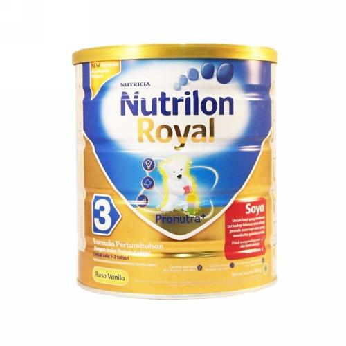 NUTRILON ROYAL SOYA 3 SUSU FORMULA PERTUMBUHAN ANAK USIA 1-3 TAHUN 700 GRAM KALENG