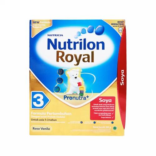 NUTRILON SOYA 3 USIA 1-3 TAHUN SUSU 350 GRAM