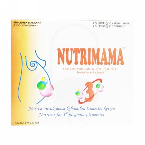 NUTRIMAMA 3 BOX 30 KAPSUL