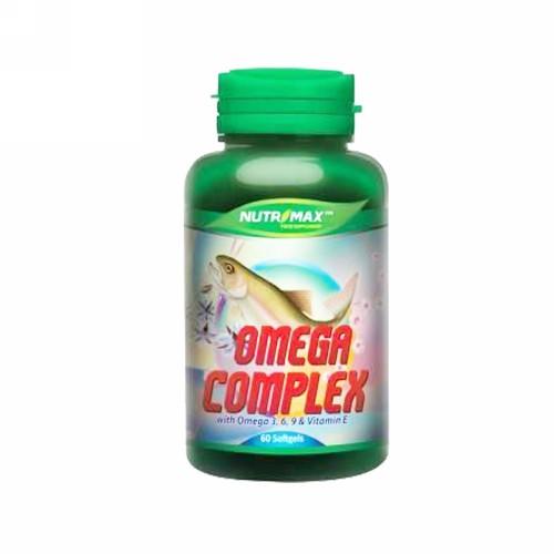 NUTRIMAX OMEGA COMPLEX BOX 60 KAPSUL