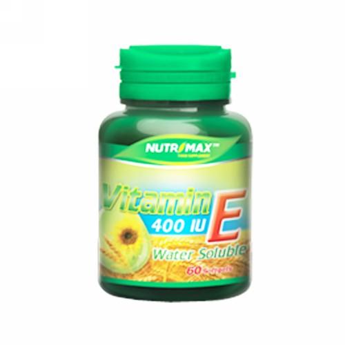 NUTRIMAX VITAMIN E 400 IU WATER SOLUBLE BOX 60 SOFTGEL