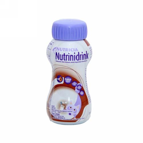 NUTRINIDRINK RASA COKLAT BOTOL 200 ML