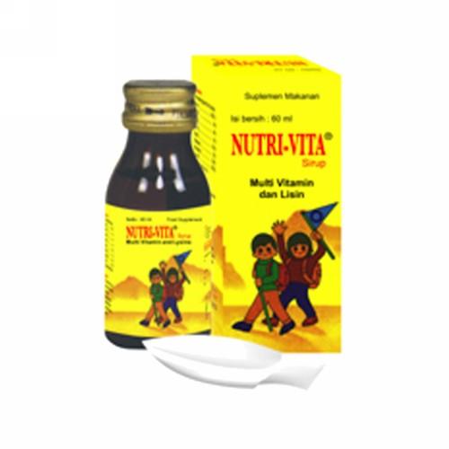 NUTRIVITA SIRUP 60 ML