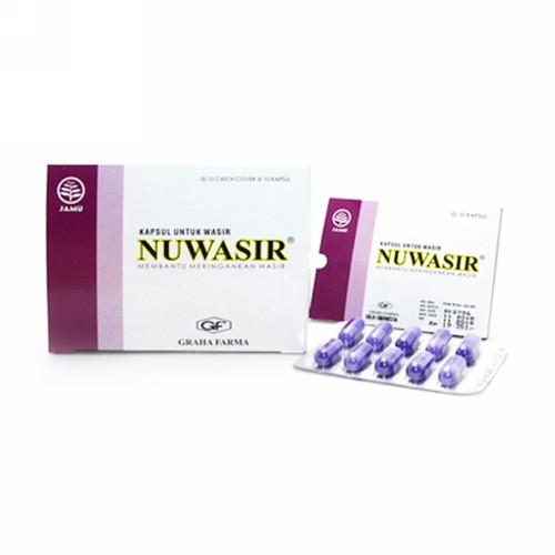 NUWASIR BOX 100 KAPSUL