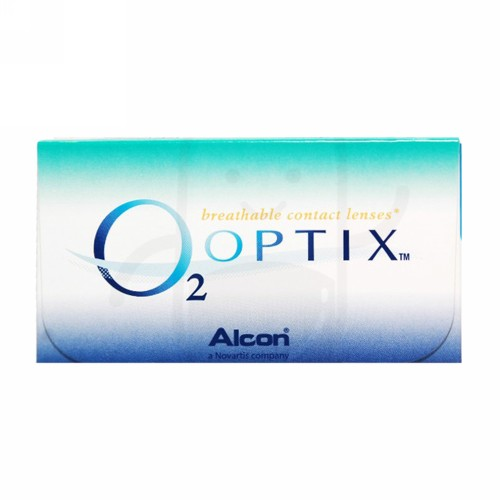 O2 OPTIX SILICONE HYDROGEL MONTHLY CLEAR LENS (-6.00) BENING