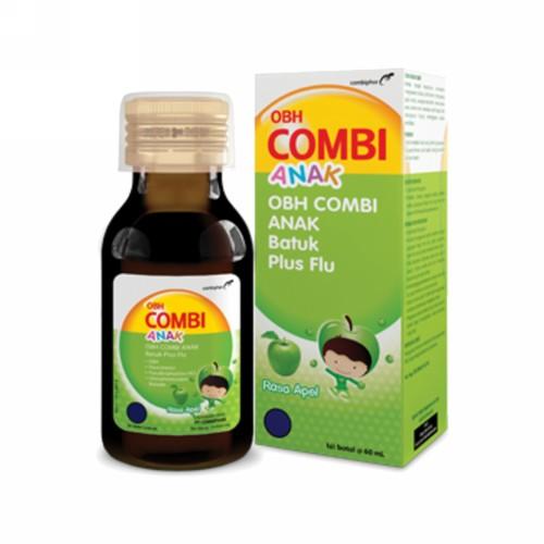 OBH COMBI BATUK ANAK PLUS FLU RASA MADU 60 ML