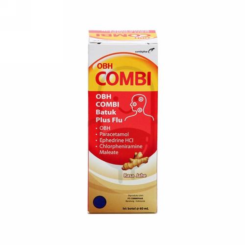 OBH COMBI BATUK PLUS FLU RASA JAHE 60 ML