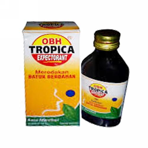 OBH TROPICA EXPECTORANT MENTHOL SIRUP 100 ML