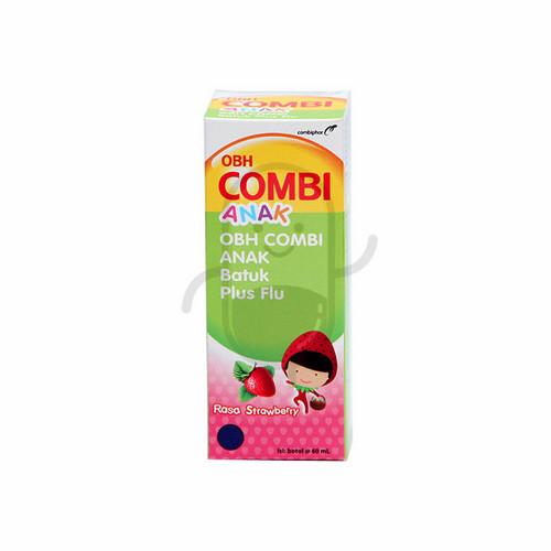 OBH COMBI ANAK BATUK PLUS FLU RASA STRAWBERRY 60 ML