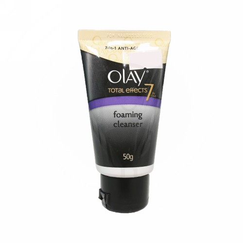 OLAY TOTAL EFFECTS 7 IN ONE FOAMING CLEANSER TUBE 50 GRAM