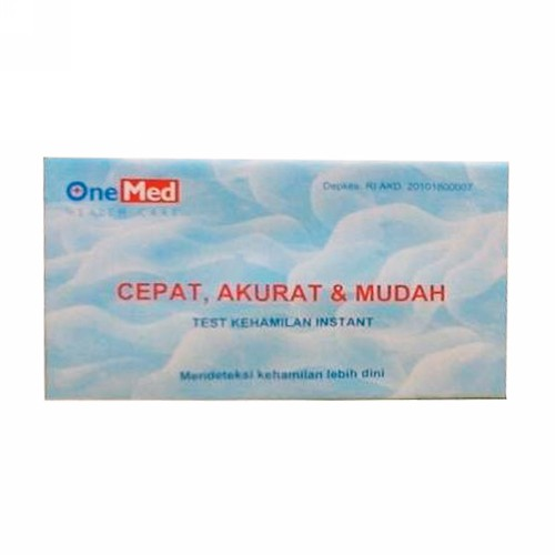 ONE MED TEST STRIPS KEHAMILAN BOX