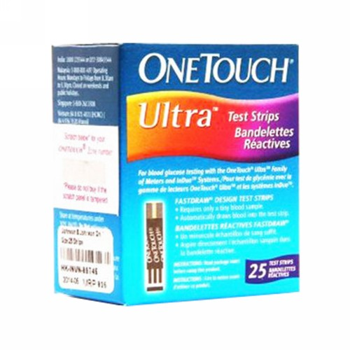 ONE TOUCH ULTRA STRIP 25