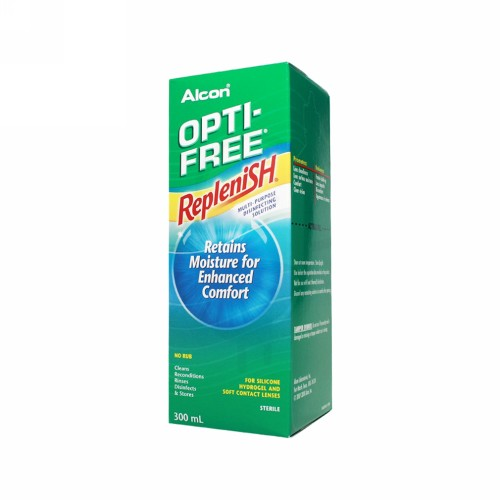 OPTI-FREE REPLENISH MULTI PURPOSE DISINFECTING SOLUTION (MPDS) BOX 300 ML