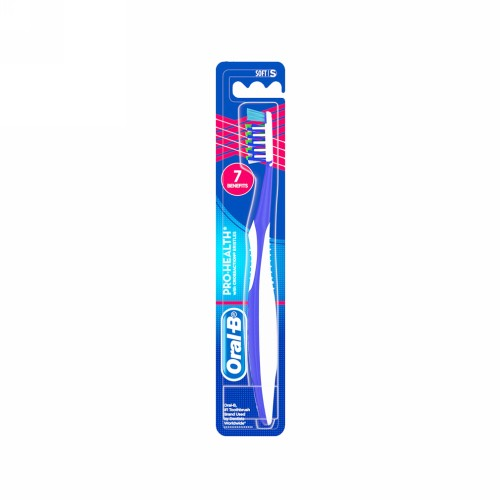 ORAL B SIKAT GIGI PRO HEALTH WITH CROSSACTION 7 BENEFITS SOFT