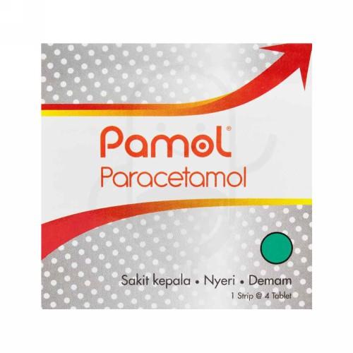 PAMOL 500 MG TABLET STRIP