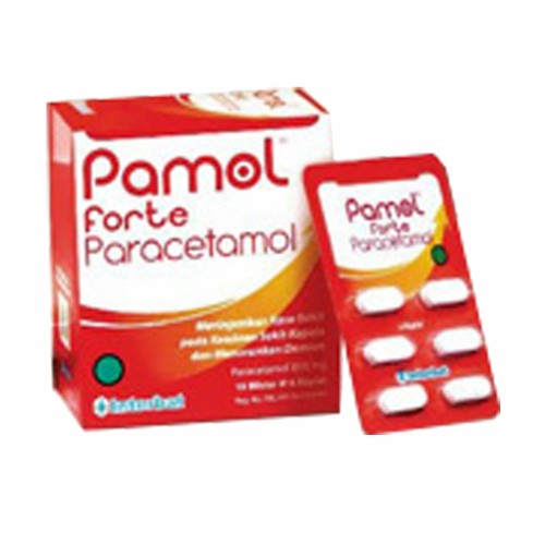 PAMOL FORTE STRIP 6 KAPLET