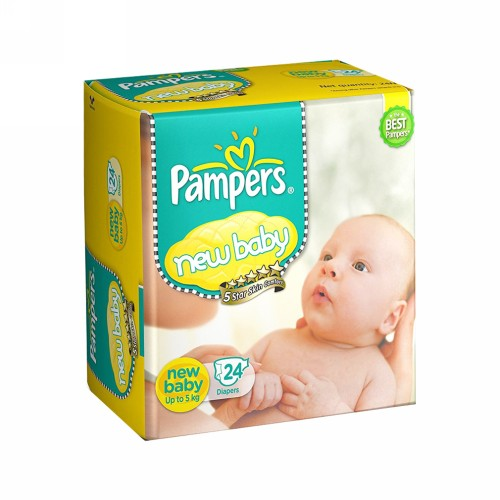 PAMPERS NEW BABY UP TO 5 KG BOX 14 PCS