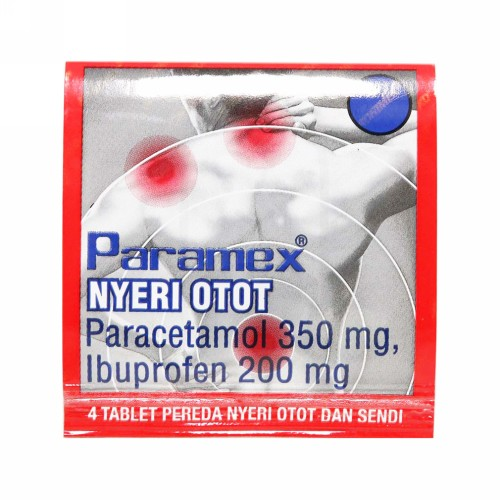 PARAMEX NYERI OTOT STRIP 4 TABLET