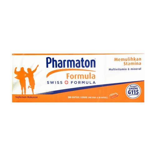 PHARMATON FORMULA STRIP 5 KAPSUL