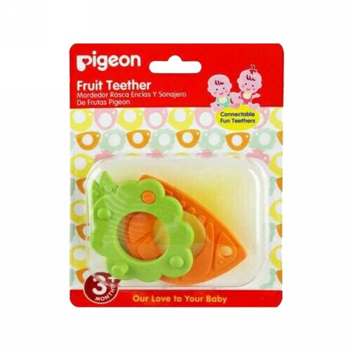 PIGEON FRUIT TEETHER WARNA HIJAU DAN ORANGE