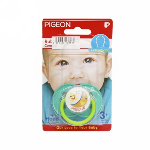 PIGEON RUBBER PACIFIER ORTHODONTIC