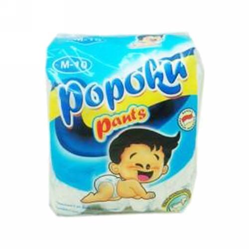 POPOKU BABY DIAPERS UKURAN M 10