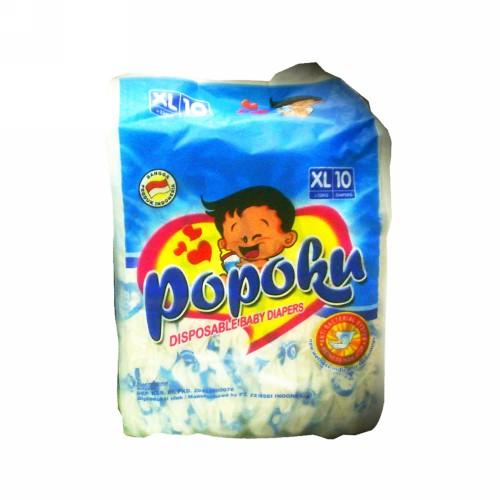 POPOKU BABY DIAPERS UKURAN XL 10