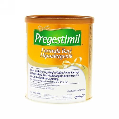 PREGESTIMIL HIPOALERGENIK SUSU USIA 0-12 BULAN 400 GRAM KALENG