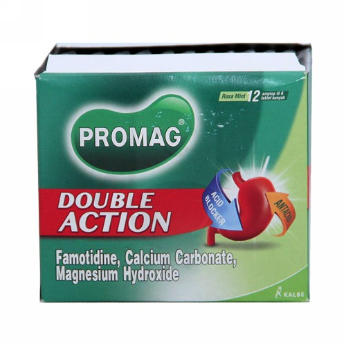 PROMAG DOUBLE ACTION BOX 72 TABLET