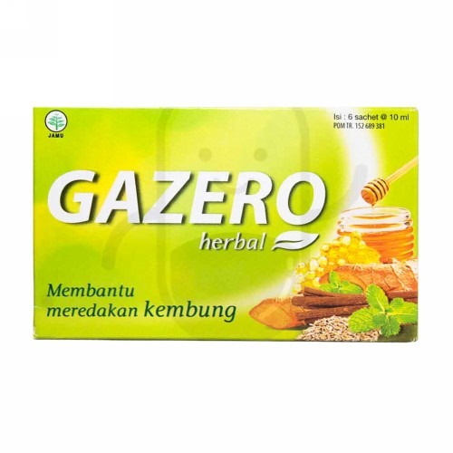 PROMAG GAZERO HERBAL 10 ML BOX 6 SACHET