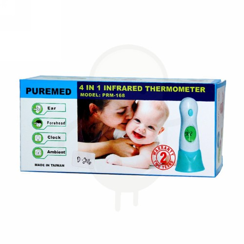 PUREMED THERMOMETER INFRA RED 4 IN 1