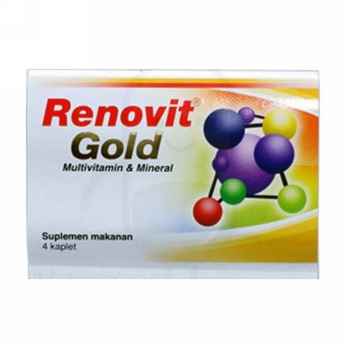 RENOVIT GOLD STRIP 4 KAPLET