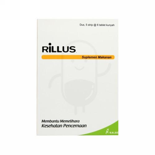 RILLUS STRIP 6 TABLET