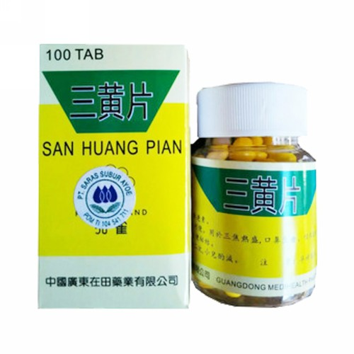 SAN HUANG PIAN BOX 100 TABLET