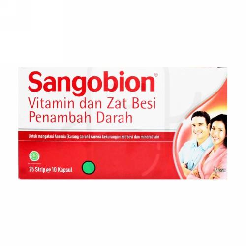 SANGOBION BOX 250 KAPSUL