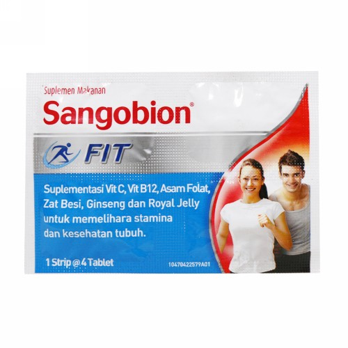 SANGOBION FIT STRIP 4 TABLET