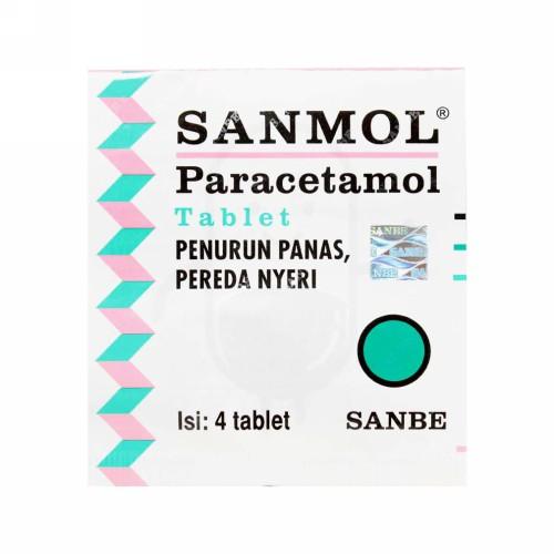 SANMOL 120 MG BOX 50 TABLET KUNYAH