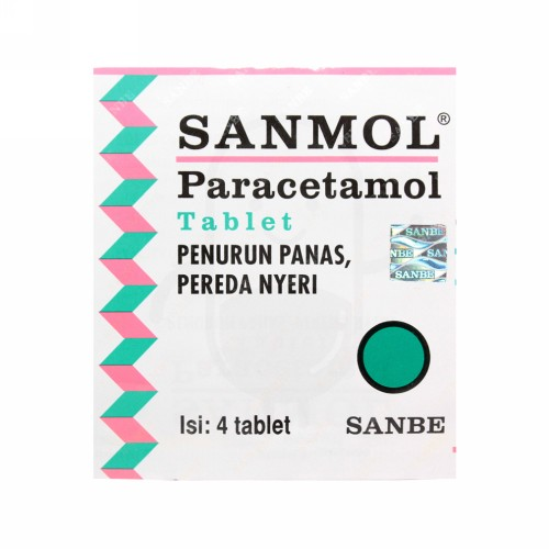 SANMOL 500 MG BOX 10 TABLET