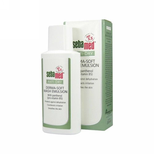SEBAMED ANTI DRY DERMA SOFT WASH EMULSION 200 ML
