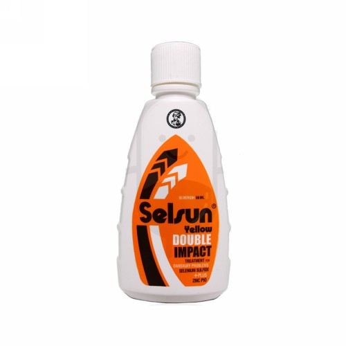 SELSUN YELLOW DOUBLE IMPACT SHAMPOO 50 ML