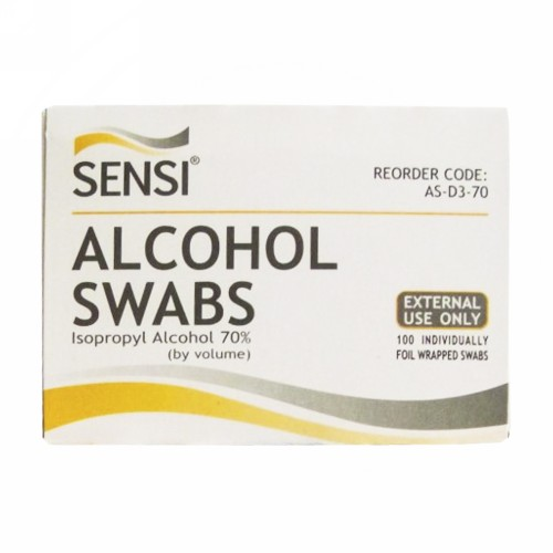 SENSI ALKOHOL SWAB BOX 100 PCS