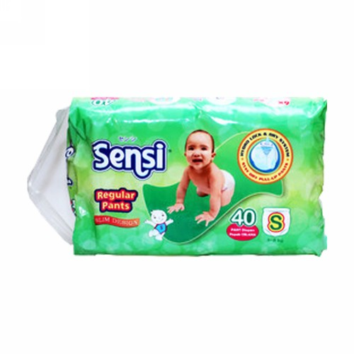SENSI REGULAR POPOK CELANA UKURAN S BOX 40 PCS